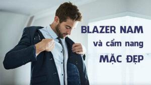 phối đồ với blazer