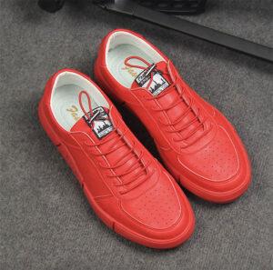 cách phối đồ với giày đỏ
