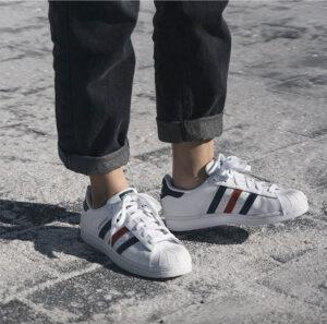phối đồ với giày adidas nam