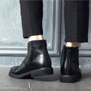 phối đồ với giày boot nam